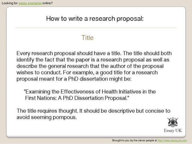 Guidelines For Writing A Research Proposal  The Oscillation Band