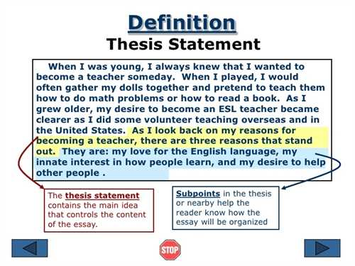 Write A Thesis Statement The Oscillation Band