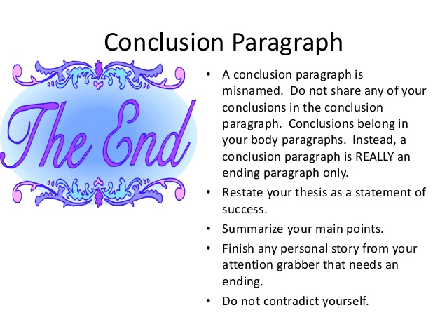 Writing a conclusion for an essay - The Oscillation Band