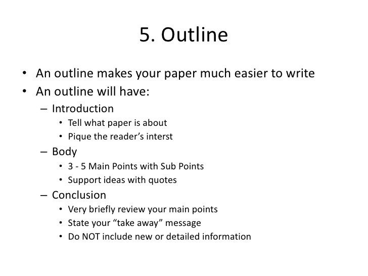 How to do term paper