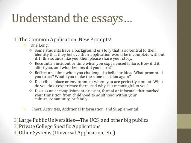 Drexel university application essay question