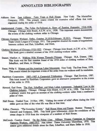bibliography in apa format